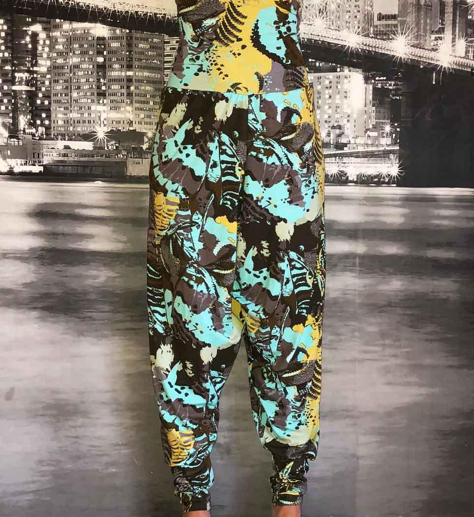Yogabyxa Hamsa pants - sunshine